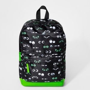 Cat & Jack Google Eyes Backpack NWT
